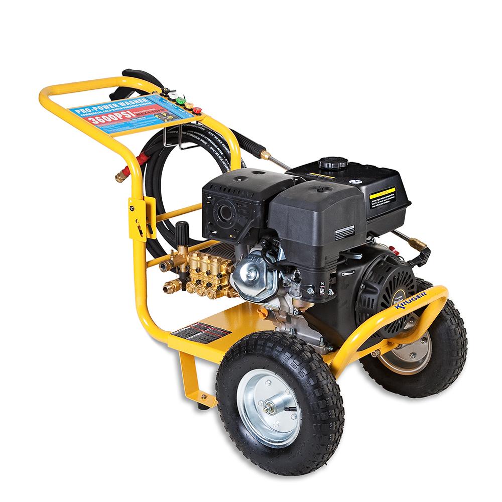 HIDROLIMPIADORA  PROF. GASOLINA  30-170 BAR 750 L/H   3400 RPM  4,8 W/6,5 HP